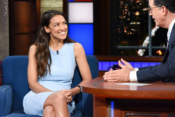 Cobert with Alexandria Ocasio-Cortez