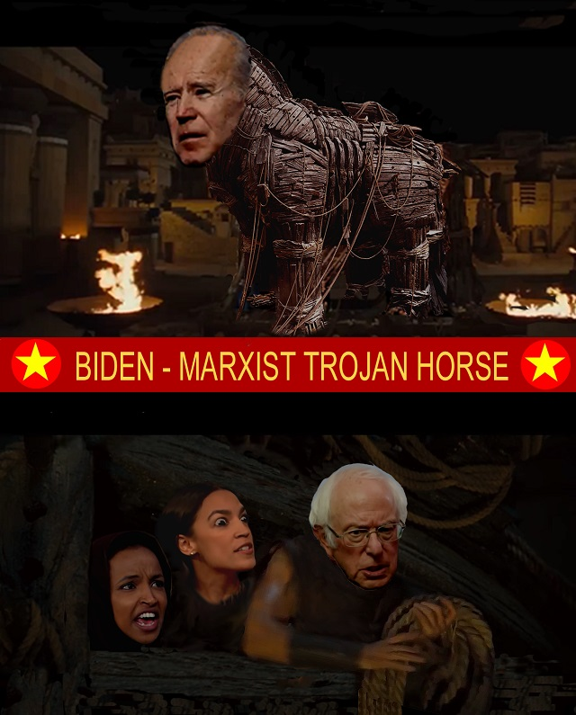 Joe Biden - Dems socialist Trojan horse video