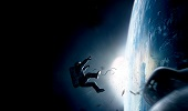 Body In Space - dramatization from 2013 film Gravity