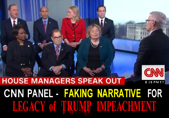 video - CNN panel of Dems faking narrative for Legacy of Trump Impeachment