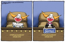 Impeachment Circus Cartoon