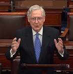 McConnell scoffs at Pelosi's demands to set rules for Senate trial