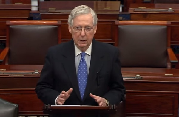 Mitch McConnell delivers summary of Dems' partisan rage to impeach Trump