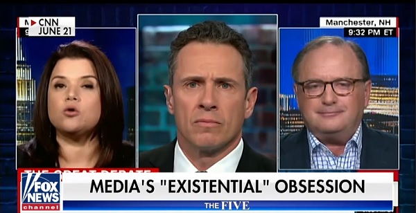 The Five focus on media existential obsession