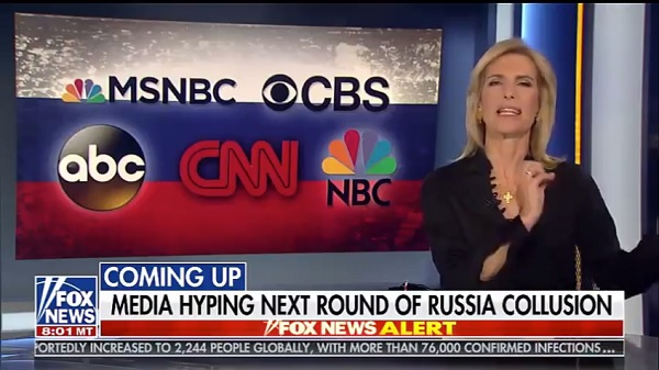 video - Ingraham Angle Jan 20, 2020 exposes media effort to revive Trump Russia Collusion Hoax
