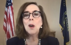 Oregon Governor Brown explains plan to mollify BLM and anarchist rioters