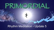 Title Screen for Primordial Rhythm Meditation - Update 5