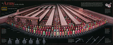 Xian's Terra-Cotta Army - Reconstruction in true colors - National Geographic, June 2012